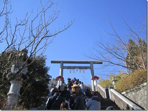 神祇大社へ初詣