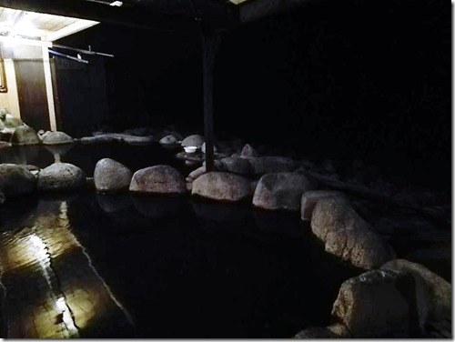 黒根岩露天温泉