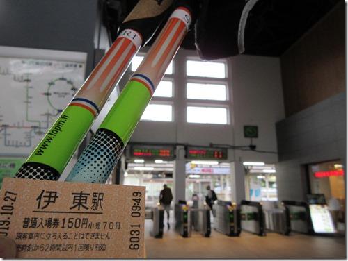 伊豆急全線ノルディックウォーキング(伊東駅→川奈駅)