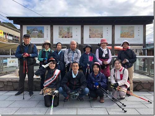 伊豆急全線ノルディックウォーキング(伊豆稲取駅→今井浜海岸駅)